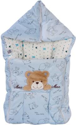 Mee Mee Baby Carry Nest Blue - Teddy Face Sleeping Bag