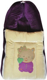 Chinmay Kids BABY CARE VELVET CARRYNG AND BEDDING Sleeping Bag(MULTI COLOUR)