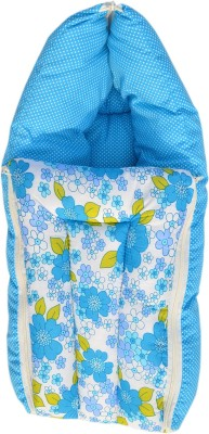 Younique Pure Cotton Baby Bed Carrier/Sleeping Bag Blue Sleeping Bag