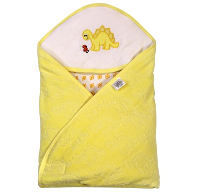 Brim Hugs & Cuddles BABY WRAPPER JACQUARD- Yellow Sleeping Bag