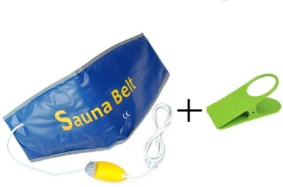 Sauna Belt Slim Waist Tummy Trimmer Hot Shaper Cruncher Protector Vibro Slimmer Heating With Clip Holder Slimming Belt