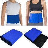 HealthIQ Waist Trimmer Slimming Belt (Bl...