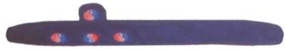 Acs Magnetic Cervical Neck Belt Velvet Magnetic Slimming Belt(Blue)