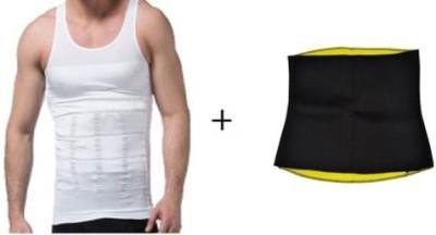 Zenon Men Vest With Hot Slimming Belt