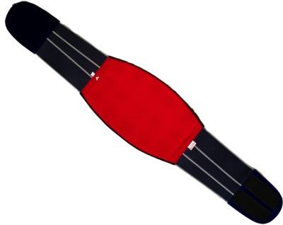 Acs Back & Belly 15 Magnet Velvet (Size-32) Slimming Belt(Red, Blue)