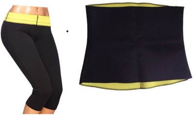 Benison India (L) Hot shaper slimming shorts and Slimming Belt