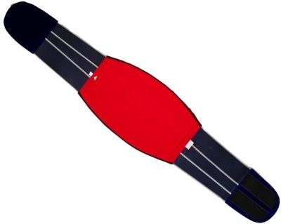 Acs Back & Belly 15 Magnet Velvet (Size-40) Slimming Belt(Red, Blue)
