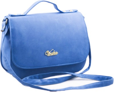 Voaka Women, Girls Blue PU Sling Bag