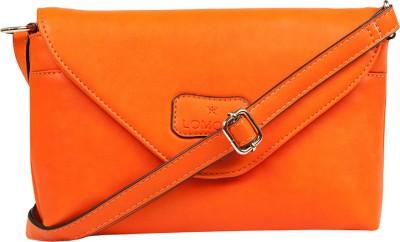 Lomond Women Casual Orange PU Sling Bag