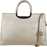 Webhin Women Silver PU Hand-held Bag