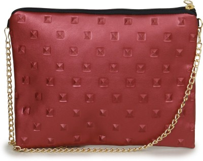 Unixx Girls Casual Red PU Sling Bag
