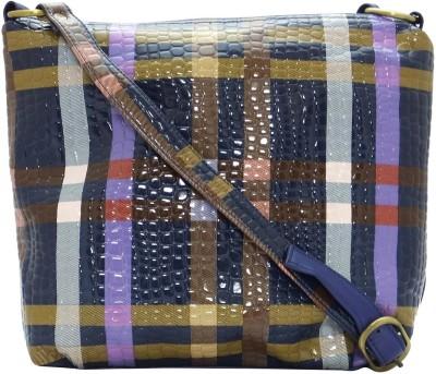 Stylocus Women Casual Blue Sling Bag