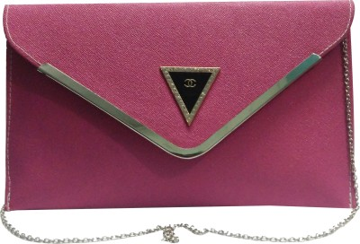 NEHASTORE Women Pink Brocade Sling Bag
