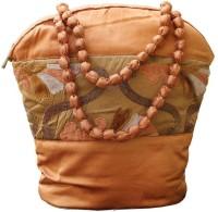Tantu Women Orange Silk Hand-held Bag