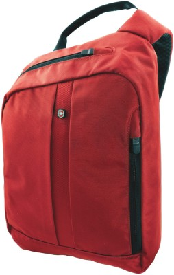 Victorinox Boys, Girls, Men, Women Red Nylon Sling Bag