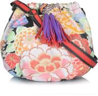 Shaun Design Girls Multicolor Leatherette Sling Bag
