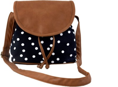 Lychee Bags Girls Casual Black, Tan Canv...