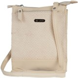 Lavie Women Beige PU Sling Bag