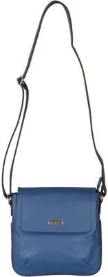 Merci Women Blue PU Sling Bag