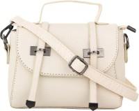 Alvaro Castagnino Women Beige PU Sling Bag