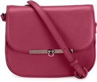 Phive Rivers Women Pink Genuine Leather Sling Bag