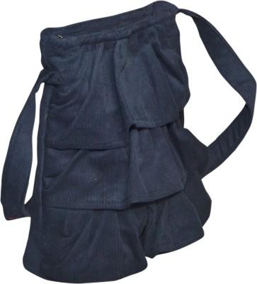 Angelfish Girls Casual Blue Denim Sling Bag