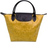 Cascara Women Yellow Genuine Leather Sho...