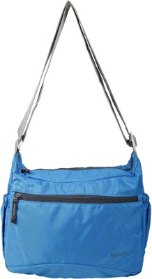 Bendly Men, Women Casual Blue Polyester Sling Bag