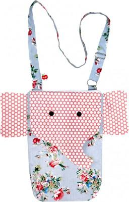 Always Kids Girls, Boys Blue, Pink Cotton, Polyester Sling Bag