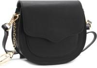 Tresmode Women Black Sling Bag