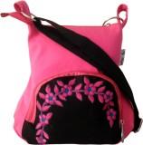 Fly Angels Women Pink, Black Canvas Slin...