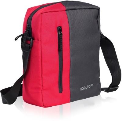 Kooltopp Men, Women, Girls, Boys Red Polyester Sling Bag