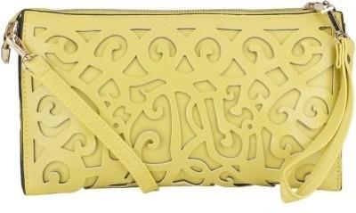 Jolie Women, Girls Yellow PU Sling Bag