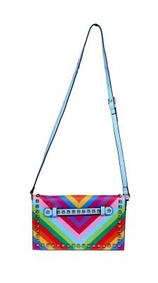 Shape n Style Girls, Women Multicolor PU Sling Bag