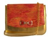 Demure Women Formal Red, Orange, Gold Ca...