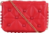 Kalon Women Red PU Sling Bag