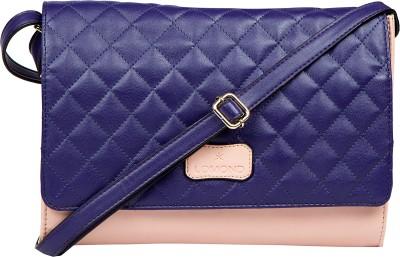 Lomond Women Casual Pink PU Sling Bag
