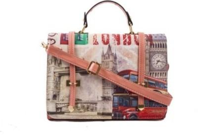 shopkio global Girls, Women Pink PU Sling Bag