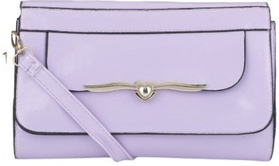 Ambience Women, Girls Purple PU Sling Bag