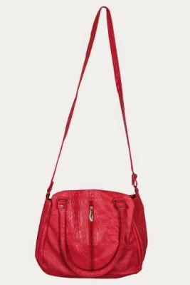 MTE Girls Casual Pink Leatherette Sling Bag