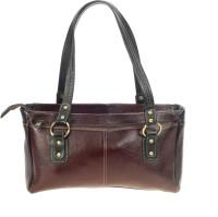 Khadim's Women Brown Leatherette Shoulder Bag
