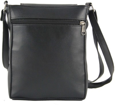 31st Street Girls, Women Black Leatherette Sling Bag