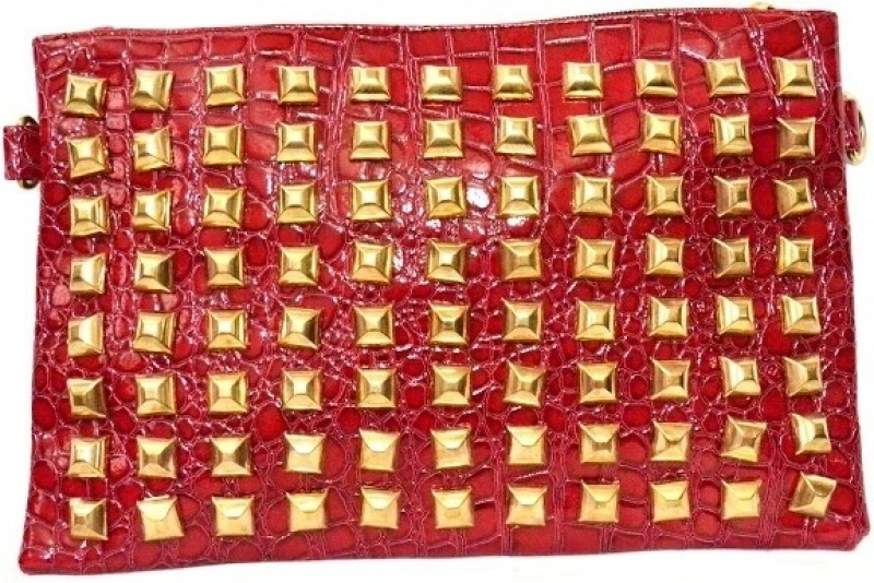 Cathriem Women Casual, Evening/Party Red PU Sling Bag DI223C