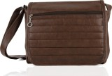 Igypsy Women Brown Leatherette Sling Bag