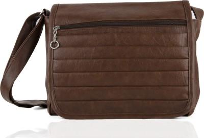 Igypsy Girls, Women Brown Leatherette Sling Bag