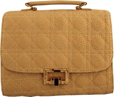 Damit Girls, Women Beige PU Sling Bag