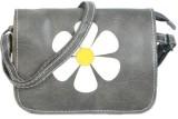 Bags Craze Women Grey PU Sling Bag