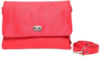Borse Women Casual Red PU Sling Bag