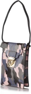Stylehoops Girls, Women, Boys, Men Casual Pink PU Sling Bag
