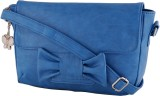 BUTTERFLIES Women Blue PU Sling Bag